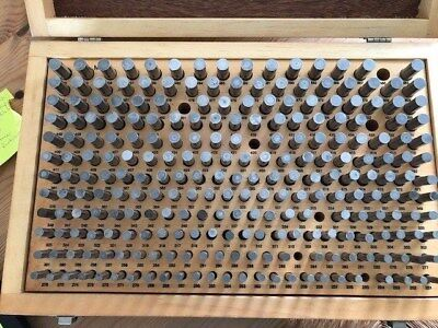Meyer Pin Gauge Set M-2 0.251-0.500 Minus