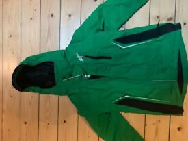 No Fear Green coat jacket with hood £10