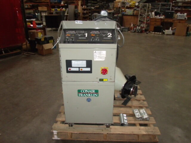 Conair Franklin Dual Vacuum Conveying System Controls & PumpModel Powerful PF-3