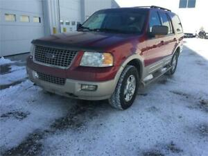 2006 Ford expedition eddie bauer 8 passengers trade welcome