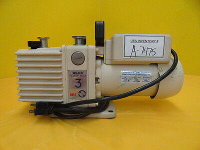 Welch 8910a Vacuum Pump Directorr V C37jxdw-157 Used Tested Working