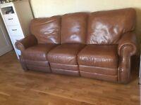 Brilliant quality light brown sofa set