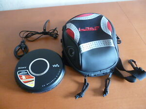 Sony Portable CD Walkman with Case and Headphones