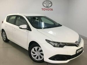 2018 Toyota Corolla ZRE182R Ascent White 6 Speed Manual Hatchback