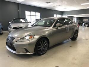 2015 Lexus IS 250*F-SPORT*ONE OWNER*MINT CONDITION*CERTIFIED*