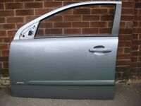 Vauxhall Astra 2006 SRI Passenger side front and rear doors in Silver lightening Code L163 or 4AU