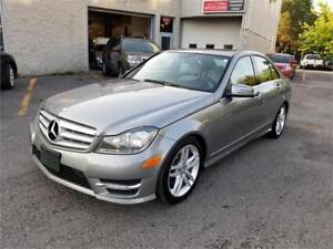 2012 Mercedes-Benz C-Class C 250 NAVI TOIT MAGS FULL LOADED