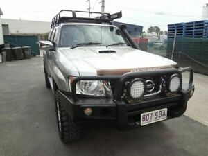 2011 Nissan Patrol GU VII ST (4x4) Silver 4 Speed Automatic Wagon Coopers Plains Brisbane South West Preview