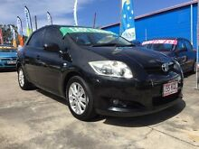 2007 Toyota Corolla ZZE122R MY06 Upgrade Conquest Seca Black 5 Speed Manual Hatchback Clontarf Redcliffe Area Preview