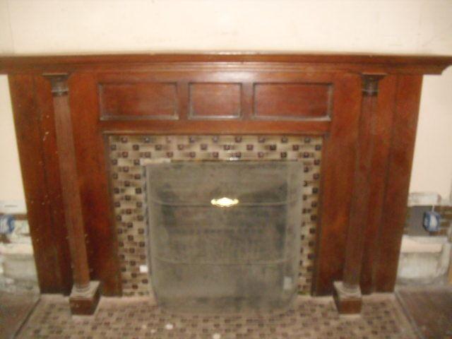 Fireplace mantel 1895
