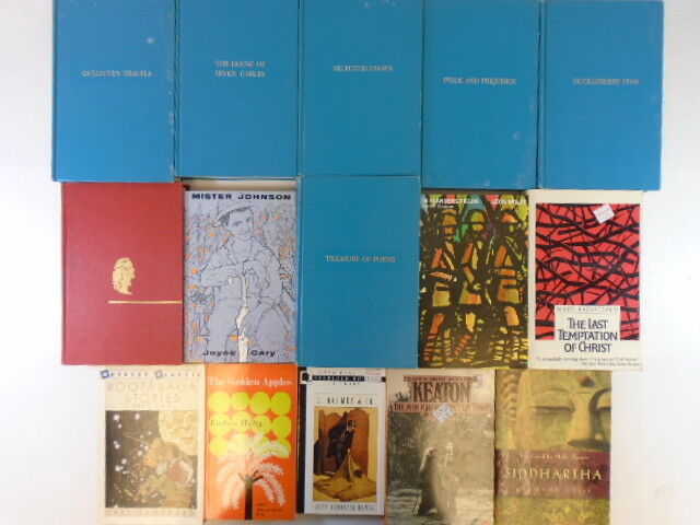 Lot of 40 Classic Books Shakespeare, Harper Lee, Joyce Gary, Ernest Hemingway by