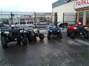 POLARIS FAMILY QUAD PACKAGE - PAYMENTS AS LOW AS $89 BI WKLY!!