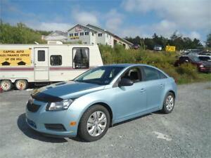 GREAT DEAL! 2012 Chevrolet Cruze LS w/1SA FINANCING AVAILABLE