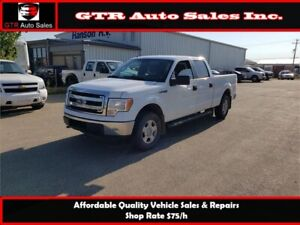 2013 Ford F-150 XLT SuperCrew 4WD*MAINTAINED,CLEAN,REMOTE START*