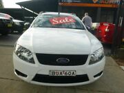 2008 Ford Falcon FG Ute Super Cab White 4 Speed Sports Automatic Utility Merrylands Parramatta Area Preview