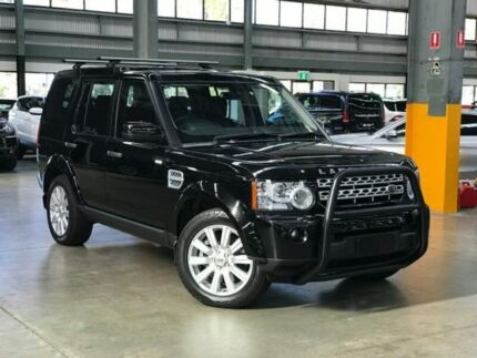 2012 Land Rover Discovery 4 Series 4 SDV6 HSE Wagon 7st 5dr CommandShift 6sp 4x4 3.0DTT  Black Port Melbourne Port Phillip Preview