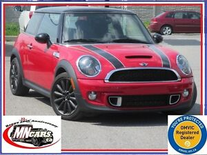2012 MINI Cooper S Rooster RED RAY Cloth/Leather Harman Kardon S