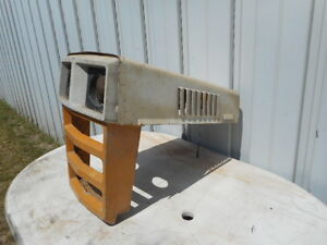 Sears Custom 10XL garden tractor hood and grill Peterborough Peterborough Area image 1