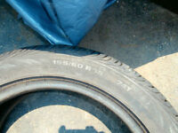 1 Continental contiprocontact radial tire$35 -155/60/r15 74T+1 C