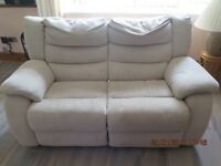 2 X 2 Seater Electric Recliner settee's - open to offers