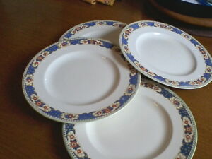 Vintage Woods Ivory Ware Plates(set of 4) London Ontario image 1