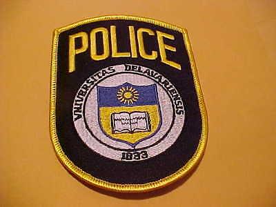 UNIVERSITY OF  DELAWARE VINIVERSITAS DELAVARIENSIS POLICE PATCH