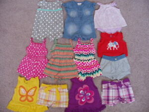 Baby Girl 12 Piece Spring/Summer Clothing Lot, Size 3-6 Months