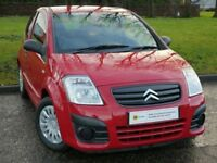 1 OWNER***(59) Citroen C2 1.1 i 8v VT 3dr ****IDEAL 1ST CAR** 12 MONTH MOT**** £0 DEPOSIT FINANCE**