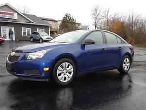 2013 Chevrolet Cruze LS, ONLY 71KM, PRICED AT 11995