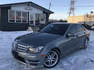 2012 Mercedes-Benz C300 4MATIC|AMGAPPEARANCE|NAV|CAM|PANO|LEATHE