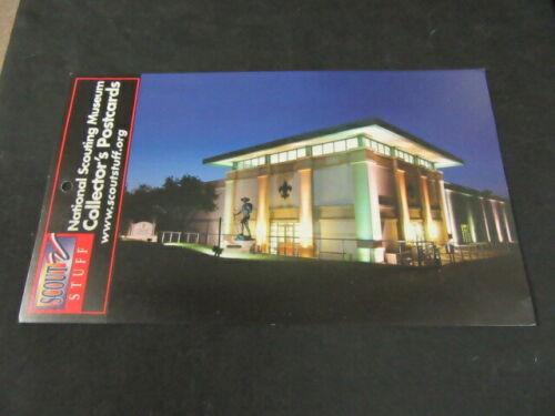 BSA National Office, Texas,  BSA National Museum Postcard     c65