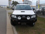 2011 Toyota Hilux KUN26R SR White 5 Speed Manual Trayback Garbutt Townsville City Preview