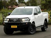 2015 Toyota Hilux GUN126R SR Double Cab White 6 Speed Sports Automatic Utility Enfield Port Adelaide Area Preview