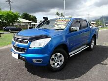 2013 Holden Colorado RG MY14 LTZ (4x4) Blue 6 Speed Automatic Crewcab Bungalow Cairns City Preview