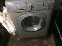 £120.00 Hotpoint washing machine n dryer+7kg+1400 spin+6kg dry+3 months warranty for £120.00