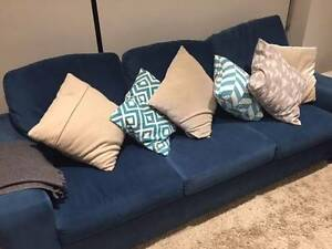 Sofa fabric 3 seater + 2 seater| High quality fabric Macquarie Park Ryde Area Preview