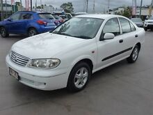 2003 Nissan Pulsar N16 MY03 ST White 4 Speed Automatic Sedan Strathpine Pine Rivers Area Preview