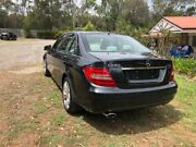 2012 Mercedes-Benz C200 W204 MY12 BlueEFFICIENCY 7G-Tronic + Black 7 Speed Sports Automatic Sedan Capalaba Brisbane South East Preview