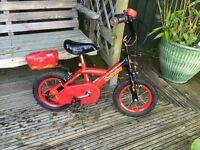 Boys Fire Power Bumper bike