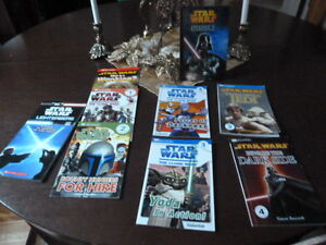 Collection of 9 Star Wars Books for Children