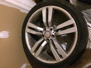GLK350 250 rims wheels with tires set 20 inch