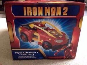 **BRAND NEW **Iron Man 2 RC Whip It Racer car Cambridge Kitchener Area image 3