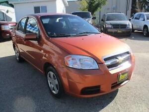 2008 CHEVROLET AVEO LS, SAFETY AND WARRANTY $3,450