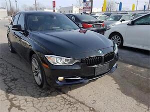 2013 BMW 328i xDrive, 4X4, SPORT LINE,CUIR, TOIUT,MAGS,A/C, 2.0L