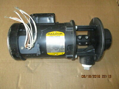 Grundfos Baldor Thermally Protected Industrial Motor 619947j Used