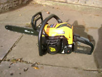 Petrol Chainsaw (As New)
