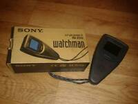 Boxed Sony watchman 2.2 in tv