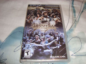 PSP FINAL FANTASY DISSIDIA 012 BRAND NEW