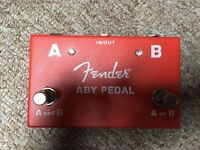 Fender aby splitting guitar pedal
