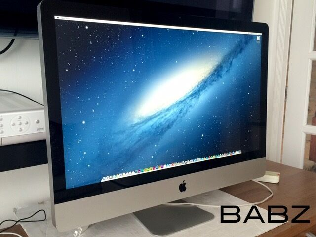 Apple iMac 27 - 2.8Ghz Quad Core i7 - Logic X Final Cut X Adobe CS6